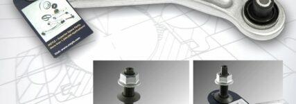 Neuer Hinterachslenker von Meyle für verschiedene Baureihen von BMW