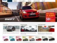 Suzuki mit neuem Internetauftritt
