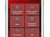 Katalog für die Hosentasche: Neue App von TRW für Android