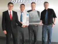 Innovationspreis des VDI für WashTec