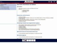 Info-Modul von Autodata für knifflige Arbeitsvorgänge am Fahrzeug