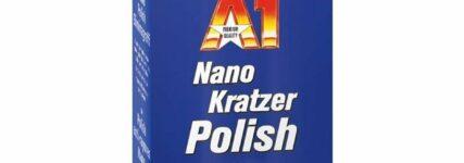 Kratzer entfernen mit  'A1-Nano-Kratzer Polish' von Dr. Wack
