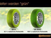 Continental erwartet bis 2020 'Grünen Reifen' aus nachwachsenden Rohstoffen