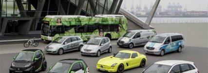 Daimler steigert Absatz bei Elektro-Pkw