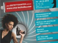 Kfz-Fachmesse 'VmA Technika' am 19. und 20. Oktober in Nürnberg
