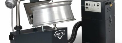 Neues Verfahren von Cartec zur Reparatur von Alufelgen
