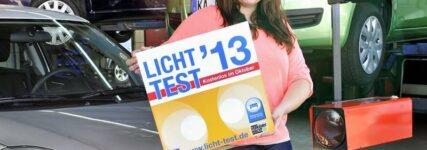 Licht-Test 2013 startet am 1. Oktober
