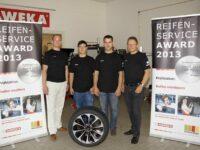'Reifenservice Banspach' gewinnt Finale der Reifenmonteure