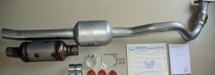 Dieselpartikelfilter von Vitkus als Nachrüstsatz für den Ford Transit