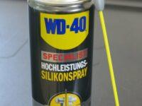Silikonspray von WD-40 gegen Feuchtigkeit und Korrosion
