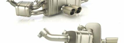 Neue Abgasanlage für den Cayman/Cayman S von Akrapovič