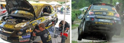 ADAC-Opel-Rallye-Cup: Team B-Rallye auch nach Fahrwerkschaden optimistisch