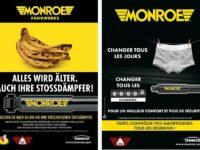 Monroe auf Platz zwei im Wettbewerb um beste Werbekampagne