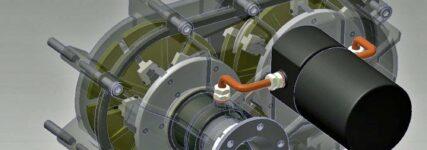 Räderloses Fahrgetriebe von Parts Services Holland ohne Reibung