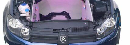 Motorkapselung von Röchling Automotive optimiert Thermoakustik