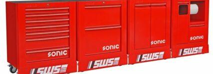 Sonic-Work-Station für mobiles Arbeiten bei Rennteams