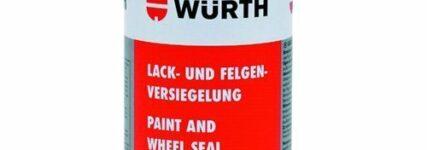Neu entwickelte 'Lack- und Felgenversiegelung' von Würth