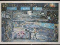 Kunstdruck: Versteigerung zugunsten des Allan Simonsen Gedenkfonds