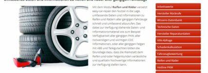 Team Kamm Automotive erweitert Easy-Car-Repair um Reifen- und Räder-Modul