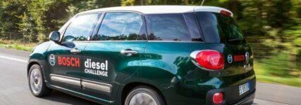 Fiat 500L Living bei 'Bosch Diesel Challenge' mit Verbrauch von 2,63 Liter Diesel