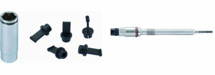 Stecknuss für PSG-Glühkerze inklusive Schutzkappen von KS Tools