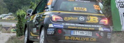 Team B-Rallye drängt bei ADAC-Opel-Rallye-Cup nach vorn