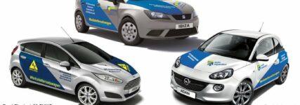 Ersatzwagen-Aktion von ATR für AC Auto Check, Meisterhaft und Autopartner