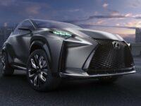 Neuer Benzinantrieb von Lexus mit Turbolader