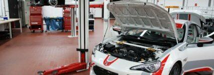 Kundensport: Rallyeumbau für den Toyota GT86