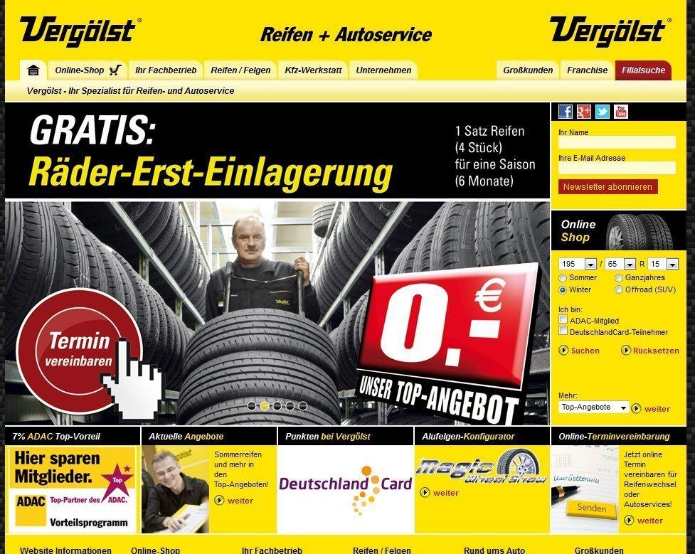 Online Geschäft Bei Vergölst Entwickelt Sich Positiv Krafthand