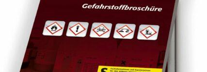 Gefahrstoffe: Kompakte Zusammenfassung in Broschüre von Asecos