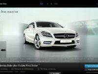 Mercedes-Benz startet Neuwagenverkauf über das Internet