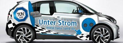 Poolfahrzeuge: TÜV SÜD Auto Service setzt auf BMW i3