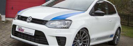 KW-Gewindefahrwerke für den VW Polo R / WRC