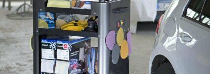 Werkstattwagen von Part für mehr Flexibilität am Arbeitsplatz