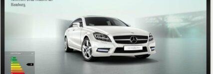 Vorkonfigurierte Neufahrzeuge von Mercedes-Benz im Online-Store