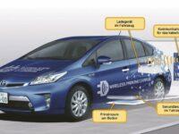 Toyota testet kabelloses Ladesystem für Fahrzeuge mit elektrischem Antrieb