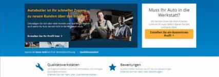 Werkstattportal 'Autobutler' ab April auch in Deutschland vertreten