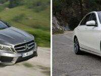 Mercedes-Benz führt neue C- und GLA-Klasse ein