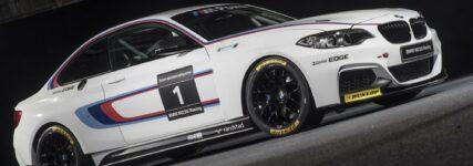 BMW M 235i-R geht auf Dunlop-Schlappen in die Saison 2014
