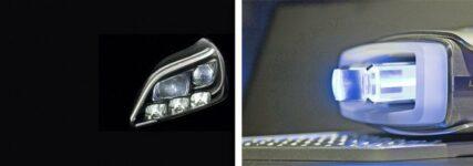 Audi und Mercedes-Benz betrachten Laserlicht als Ergänzung zu LED