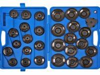 30-teiliges Set von Sonic mit spezifischen Ölfilterschlüsseln