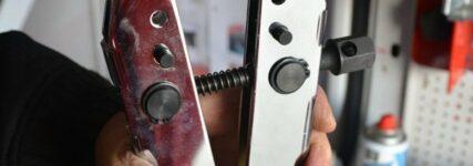 Reparaturwerkzeug-Set von Snap-on zur Instandsetzung von Klimaleitungen