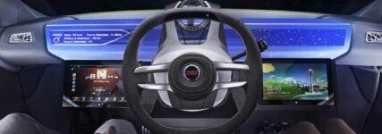 Lenkradradkonzept von TRW für neue Möglichkeiten beim automatisierten Fahren