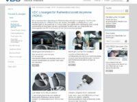 VDO informiert über Reifendruckkontrollsysteme (RDKS)