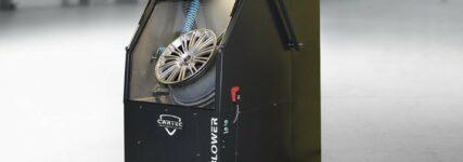 'Wheel-Blower' von Cartec mattiert Lackoberflächen im 'Wirbelstromverfahren'