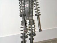 Skulpturenwettbewerb mit Autoteilen bei den Werkstatt-Tagen der Automechanika