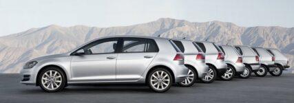 40 Jahre VW Golf: Spiegelbild technischen Fortschritts im Fahrzeugbau