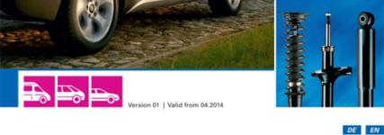 Neuer Sachs-Stoßdämpfer-Katalog für Pkw von ZF Services
