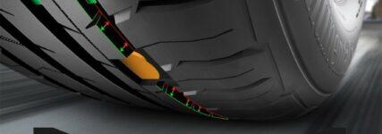 Continental-Sensoren im Reifen erkennen Profiltiefe